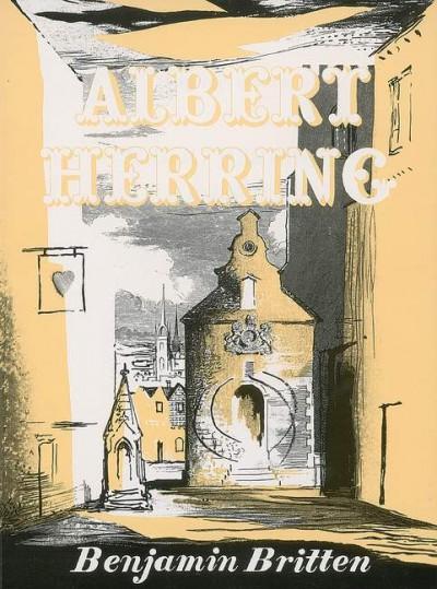 Albert Herring op. 39 (vocal score)