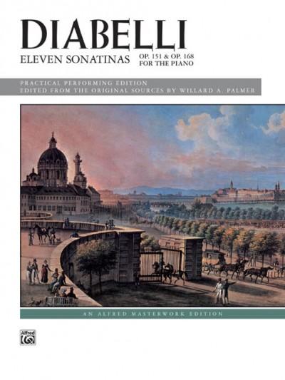 Eleven Sonatinas, Op. 151 and Op. 168
