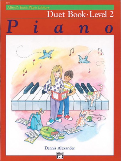 Alfred's Basic Piano Duet Book, Level 2
