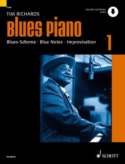 Blues Piano 1 (German Edition)