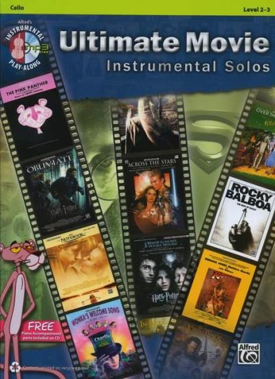 Ultimate Movie Instrumental Solos - Cello (+ CD)