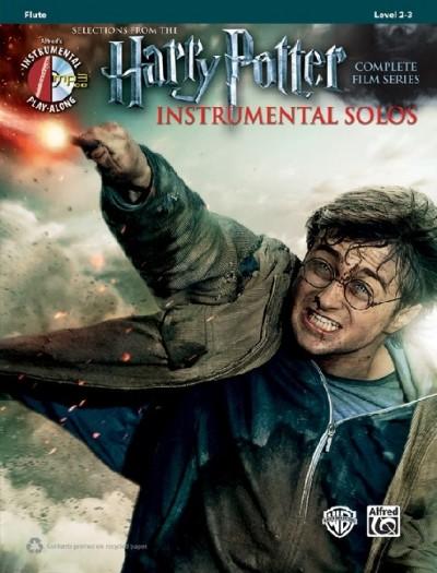 Harry Potter-  Instrumental Solos: Flute (+ CD)