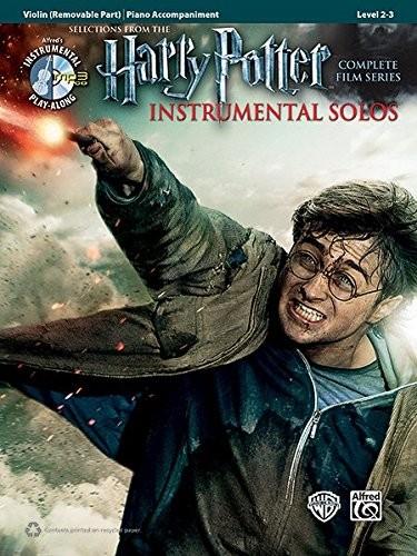 Harry Potter- Instrumental Solos: Violin (+CD)