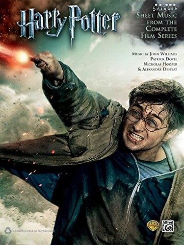 Harry Potter: Complete - 5 Finger Piano