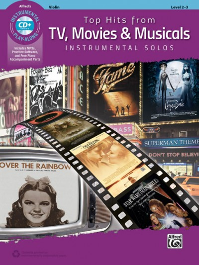 Top Hits from TV, Movies and Musicals: Violin